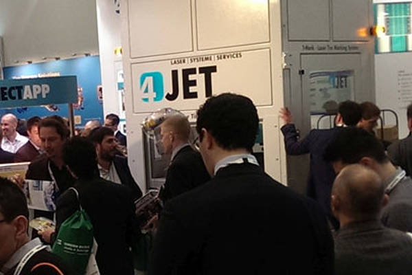 Successful TIRE Expo for 4JET