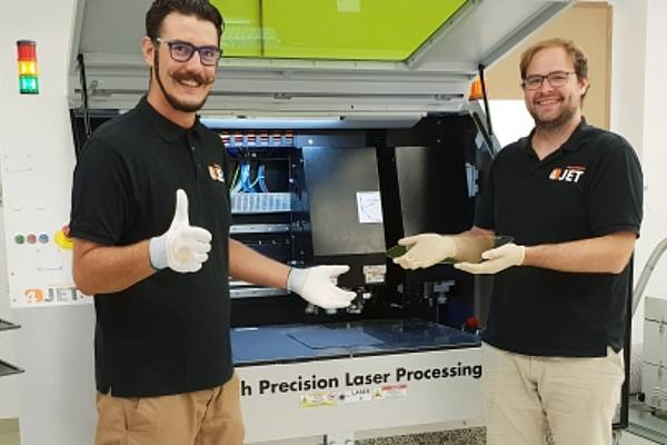 4JET opens new MicroFab Facility near Rosenheim Laser Micromachining Job Shop for Glass and Electronics