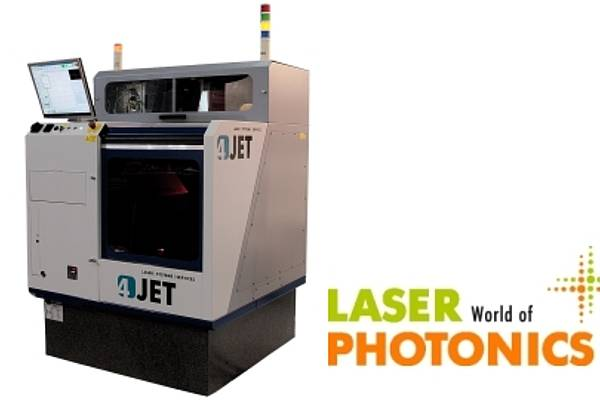 4JET microtech launches CUBE micromachining system at LASER 2017